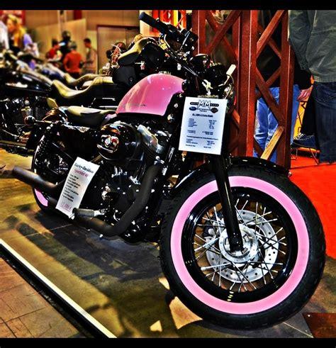 Motorrad Messe Dortmund Parken by Pink Harley Davidson Sportster Pink Motorradmesse