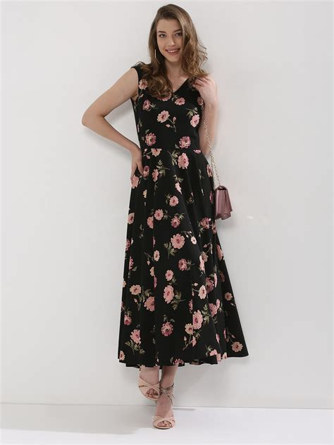 Top Five Print Maxi Dresses by Buy Oliv Floral Print Maxi Dress For S Multi