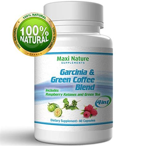 Natures Green Coffee Detox Dr Oz by Premium Garcinia Cambogia With Green Coffee Beans