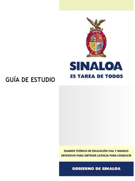 guia examen licencia de manejo guanajuato gu 237 a para realizar ex 225 men te 243 rico de licencia de conducir