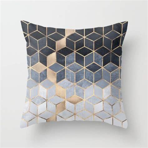 blue sofa pillows 25 best ideas about geometric decor on pinterest modern