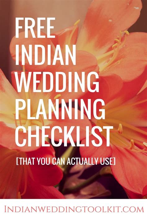 Wedding Checklist Indian by The Indian Wedding Planning Checklist You Can Actually