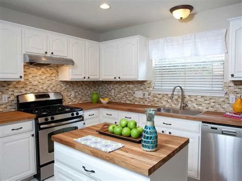 Butcher Block Countertops Made By Solid Wood Installed