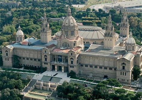 romanesque pilgrimage and spain on pinterest catalan national art museum barcelona catalonia spain