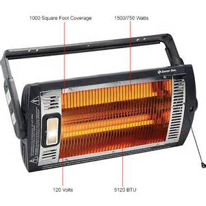 heaters portable electric comfort zone 174 heater ceiling