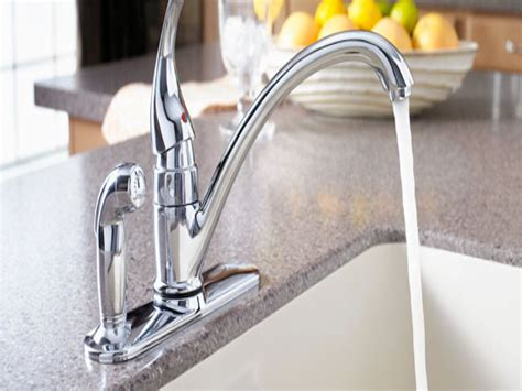 Kitchen Sink With Faucet Kitchen Water Faucets Delta