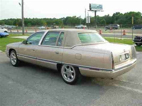 automobile air conditioning service 1995 cadillac deville parking system buy used 1995 cadillac concourse deville deelegance in fruitland park florida united states