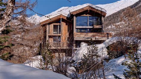 blockhütte mieten alpen chalet alyeska villa mieten in schweizer alpen zermatt