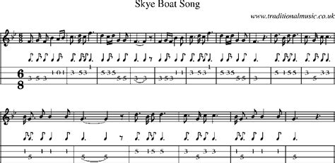 skye boat song mandolin tab mandolin tab and sheet music for song skye boat song