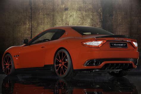 Mansory Tunes the Maserati Gran Turismo Coupe