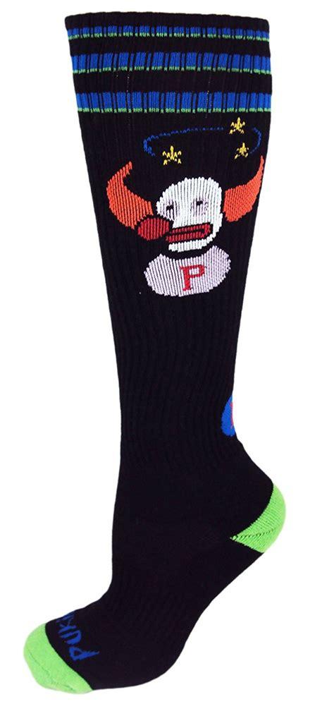 Sale Valeo Knee Wraps Fitness Squat Deadlift Wrap Support pukie the clown socks