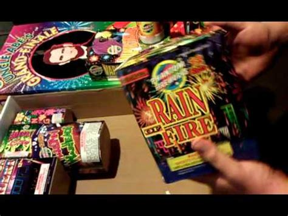 phantom backyard bash unboxing phantom fireworks assortment doovi