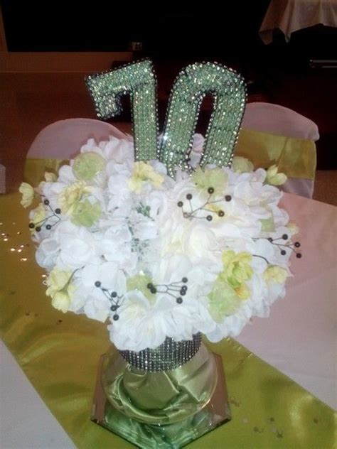 70th birthday party centerpiece crafts pinterest 70