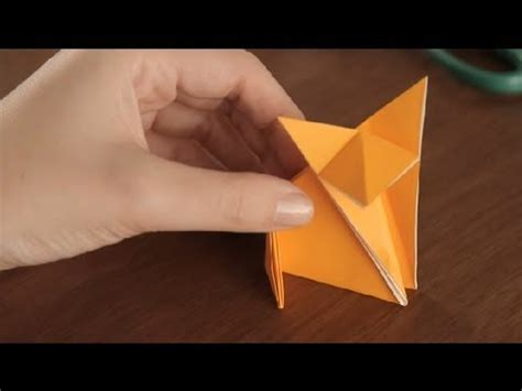 Easy Origami Fox - how to make an origami fox simple origami