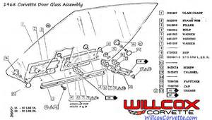 Door window assembly for 1981 corvette moreover air conditioning