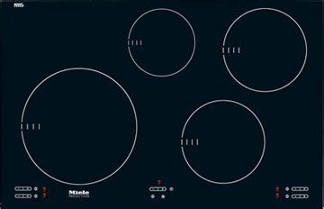 Miele 30 Induction Cooktop 30 quot 4 burner km5753 induction cooktop