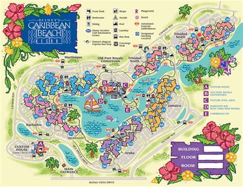 all resort map preferred rooms our thoughts on disney s caribbean resort get to disness