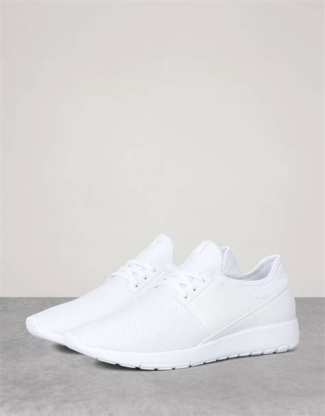 s single colour mesh sports shoes view all bershka