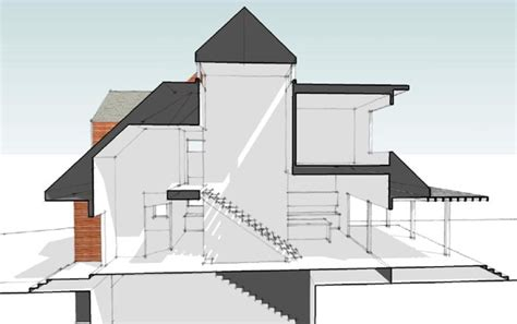 house see through modern house plans by gregory la vardera architect motrad house a new local client build