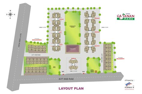 layout plan nashik shree gajanan park nashik maharashtra india 1 2 3 bhk row