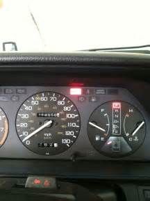 1989 honda accord sei dashboard brake light goes on beth
