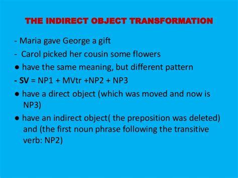 sentence pattern sv sentence transformation chapte 9 presentation