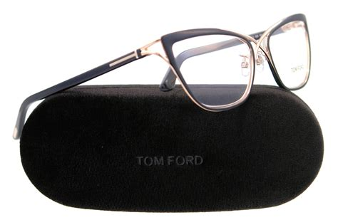 new tom ford eyeglasses cat eye tf 5272 black 005