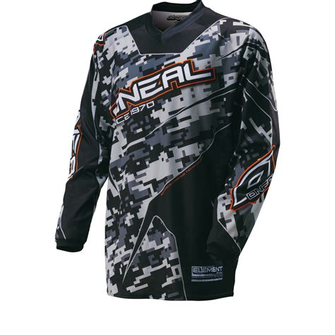 oneal motocross jersey oneal element 2016 digi camo motocross jersey motocross