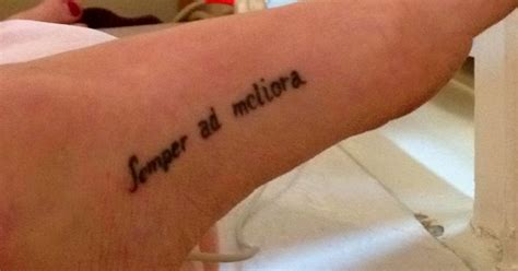 tattoo in latin translation my foot tattoo is my daily reminder a phrase i have loved