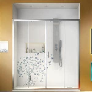 parete vasca scorrevole box doccia nicchia 170 cm scorrevole trasparente per