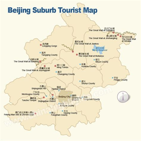 beijing map beijing china map