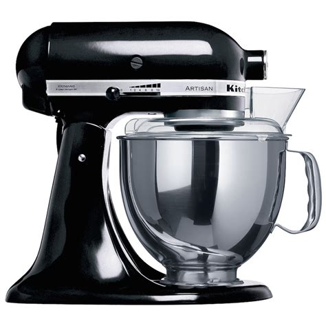 KitchenAid Onyx Black Stand Mixer KSM150   The Cooking