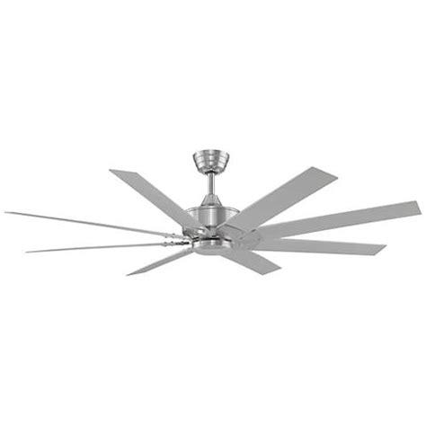 fanimation levon 63 inch brushed nickel ceiling fan 63 quot fanimation levon dc brushed nickel ceiling fan