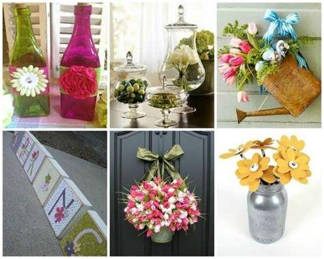 articoli x decorare decorazioni primaverili fai da te idee per la casa foto