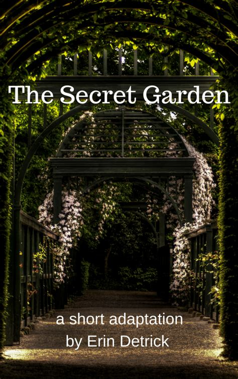 secret garden short play script adaptation  erin