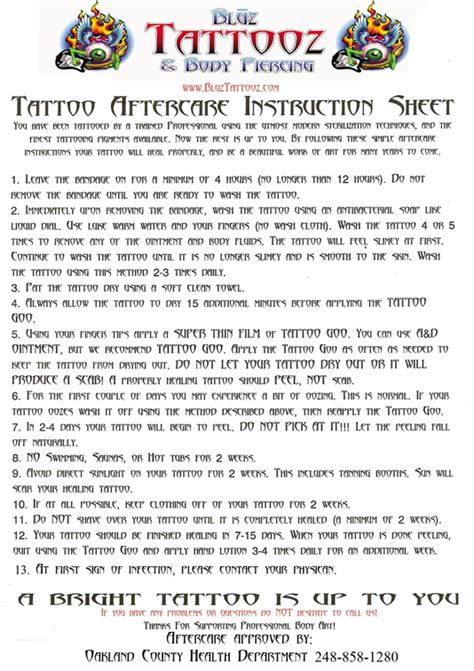 laser tattoo removal aftercare instructions removal aftercare aftercare