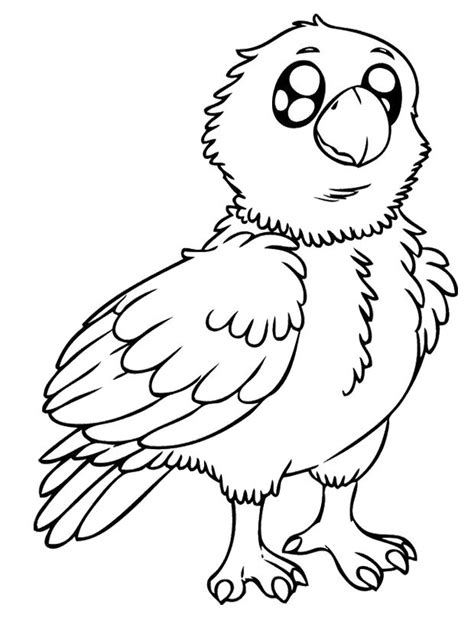 Baby Eagle Coloring Pages | baby eagle coloring pages pottery pinterest