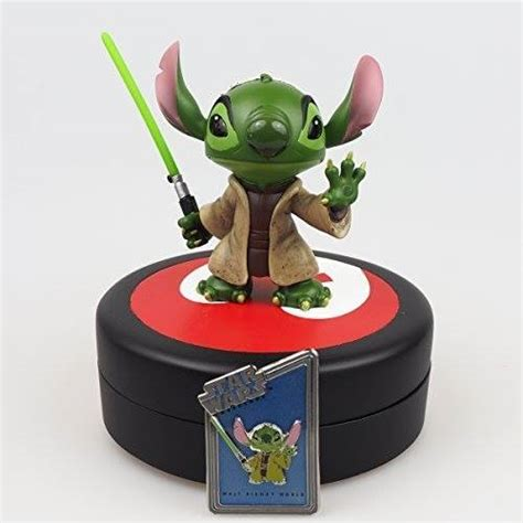 Star Wars Giveaway - star wars giveaway stitch as yoda statuemouseplanning