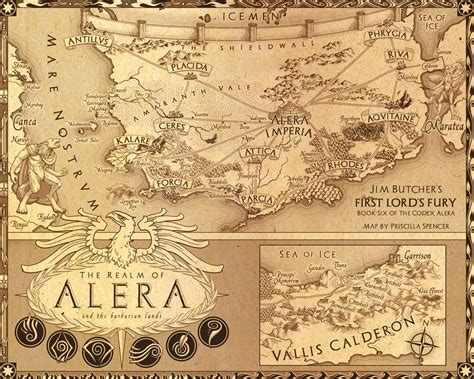 map reading and topographical sketching classic reprint books codex alera map by priscellie on deviantart