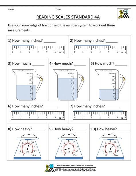 Measuring Mass Worksheet by Measuring Mass Worksheets Worksheets