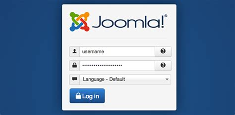 joomla tutorial login module image gallery joomla sign in