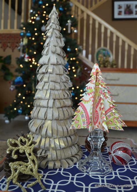 fabric christmas tree techie s diy adventures