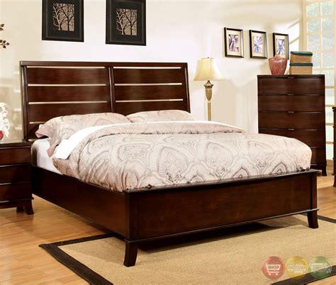 cherry bedroom sets montville contemporary brown cherry bedroom set with
