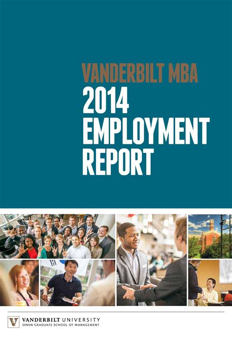 Employment For Mba Graduates by 2014 Mba Employment Report By Vanderbilt Owen Graduate