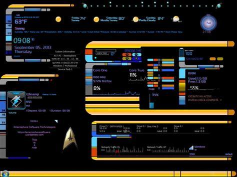 firefox themes star wars rainmeter skins star trek panel desktop pc by ast