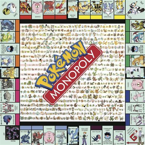 i finally finished my pokemon monopoly board thanks