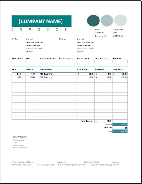consignment receipt template sales invoice template for excel excel invoice templates