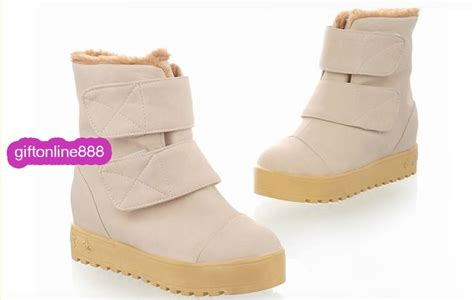 Boot Fashion Import Bf3517 korean winter fashion boots velcro muffin thick crust boots q7 ebay