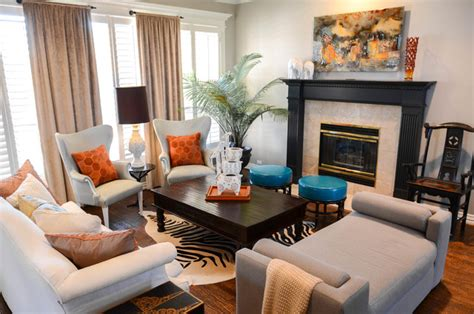 funky formal living   global touch eclectic