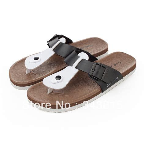 summer slippers slippers color block decoration flip flops